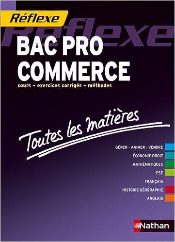 Livres gratuits en ligne Toutes les matières - Bac Pro Commerce pdf, epub