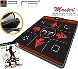 Dance Dance Revolution Ultra Sensitive Master Super Deluxe Dance Pad for PS3 + DDR Supernova for PS3