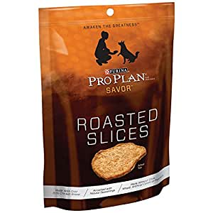 Pro Plan Chicken Roasted Slices Dog Treats - 16 oz