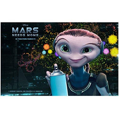 Mars Needs Moms Ki promo8 x 10 Inch Photo