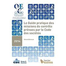 Le guide pratique des missions de contrôle prévues par le code des sociétés