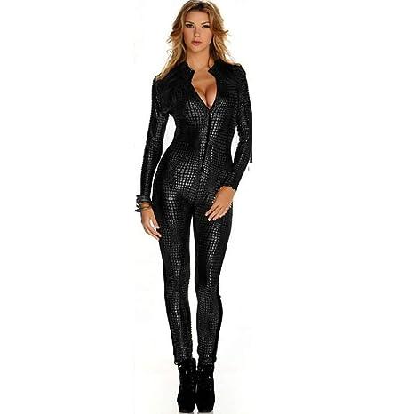 Disfraz Catsuit Para Mujer Jumpsuit Piel De Serpiente Modelo ...