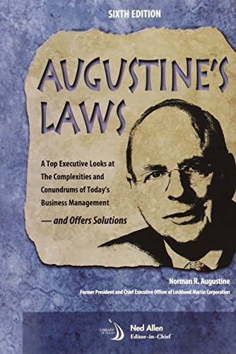 Augustine's Laws, Sixth Edition