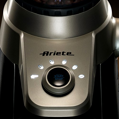 Ariete -Delonghi Electric Coffee Grinder - Professional Heavy Duty Stainless Steel, Conical...