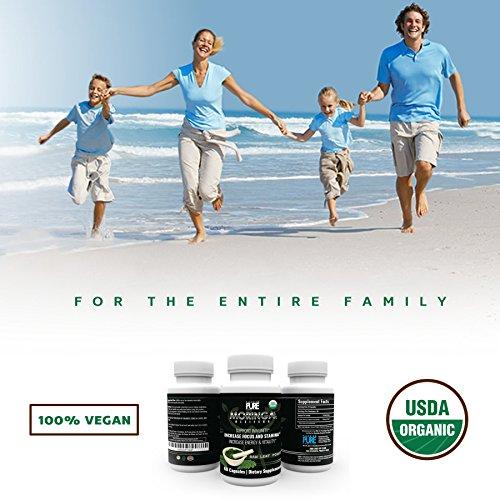 photo Wallpaper of Paradigm Pure-USDA Organic Moringa Capsules | 100% Pure Moringa Leaf Powder Green Superfood |-