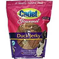 Cadet Gourmet Pet Treats Duck Jerky, 2.5 LB