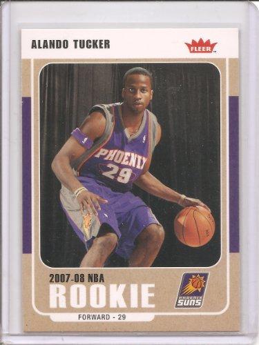 2007-08 Fleer Basketball Card # 228 - Alando Tucker Rookie Card ()