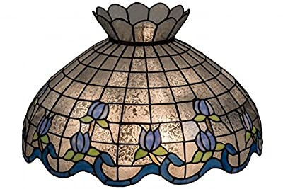 "Meyda Tiffany 14224 Roseborder Lamp Shade, 20"" Width"