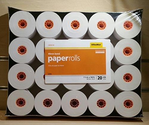 OfficeMax Register Roll 44mm 20pk