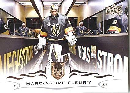 f49a316e3 2018-19 Upper Deck Hockey Card  184 Marc-Andre Fleury Vegas Golden Knights