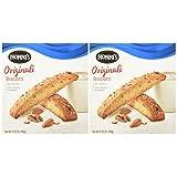 NONNI'S Biscotti Originali 5.52 Oz. Box of 8 Individually Wrapped Biscotti (2 Pack)