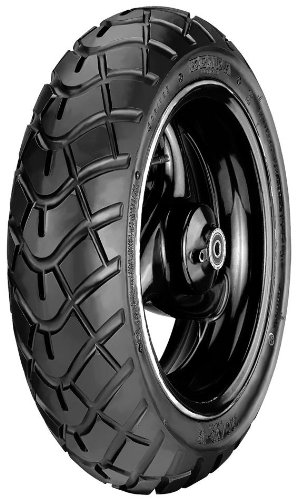 Kenda K761 Dual-Purpose Scooter Tire - Front/Rear - 120/70-12 , Position: Front/Rear, Tire Size: 120/70-12, Rim Size: 12, Tire Ply: 4, Tire Construction: Bias, Tire Type: Scooter/Moped 109T1006 by Kenda