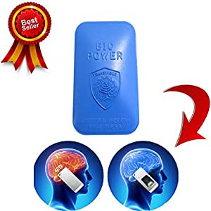 BLUE - Electro Magnetic Field Stress Neutralizer Radiation Shield Sticker for All Cell Phones and Small Tablets – IPhone's 4s/5s/6/6+ and Tested – Completely Removes Negative Effect of EMF – Can Be Moved to a New Case. Does Not Interfere with Signal.
