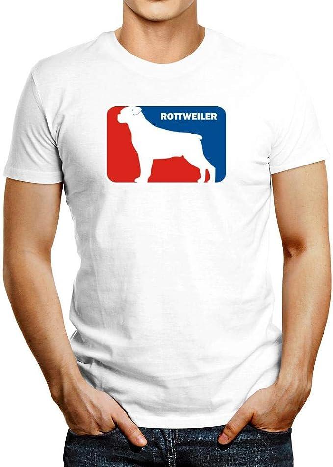 Idakoos Rottweiler Sports Logo Camiseta: Amazon.es: Ropa y ...