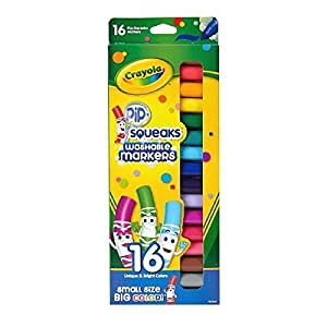 Crayola Pip-Squeaks Washable Markers 16 ea (Pack of 3)