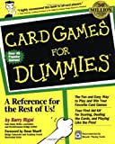 Card Games for Dummies®, Barry Rigal, 0764550500