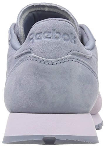 Reebok Classic Leather Nbk, Baskets Femme Vert (Quartz/rain Cloud)