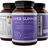 Liver Detox And Cleanse – Hangover Cure – Contains Milk Thistle + Dandelion + Artichoke + Yarrow + Jujube + Chanca Piedra – Liver Support Supplements For Men And Women By Natural Vore thumbnail