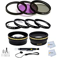 Advanced Accessory Kit for Sigma 28mm f/1.8 EX DG Aspherical Macro Large Aperture Wide Angle Lens for Canon SLR Cameras