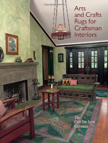 Arts and Crafts Rugs for Craftsman Interiors: The Crab Tree Farm (Art Rug Collection Art)