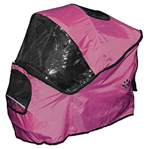 Pet Gear Weather Cover for Special Edition Pet Stroller, Raspberry