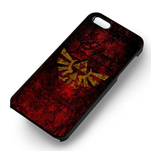 Triforce Symbol Stone pour Coque Iphone 6 et Coque Iphone 6s Case (Noir Boîtier en plastique dur) Y7N6RL