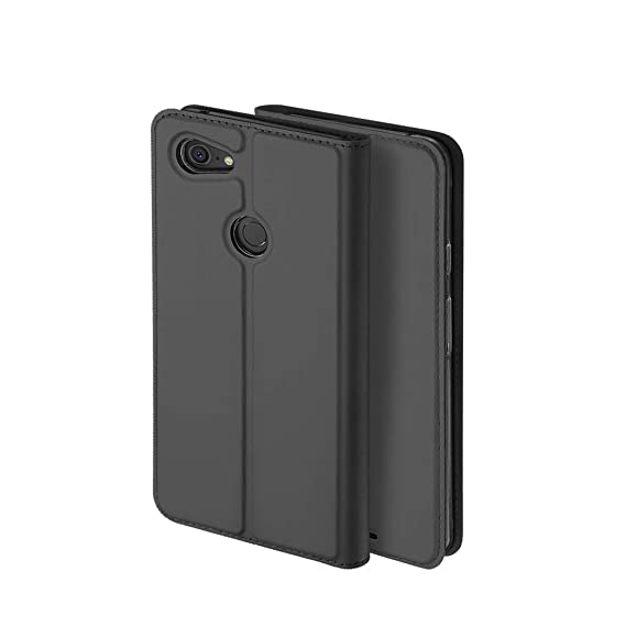wholesale dealer d2f4f a9ecf Google Pixel 3 Wallet case,Slim PU Leather Folio Flip Case Kickstand Full  Body Protective Cover Clear Soft TPU Cover with Screen Protector for Google  ...