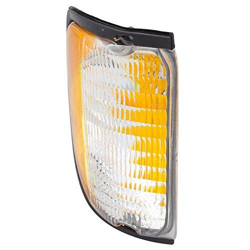 CarPartsDepot 92-03 FORD ECONOLINE E150 E250 E350 RIGHT RH SIDE CORNER TURN SIGNAL LIGHT LAMP (Ford Corner Econoline Light E-150)