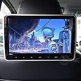 Sonic audio® 2x hr-10C universale 25,7cm tablet-style clip-on/Screen poggiatesta DVD con USB/SD/HDMI e cuffie senza fili a infrarossi–Plug-and-Play rear-seat Entertainment System