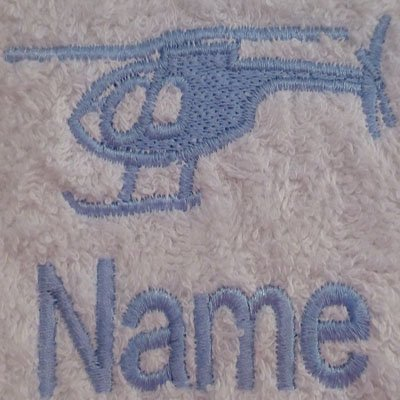 EFY Face Cloth Bath Towel or Bath Sheet Personalised with CLEF logo and name of your choice Face Cloth 30x30cm Hand Towel