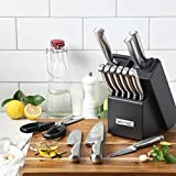 McCook MC21 Knife Sets,15 Pieces German Stainless