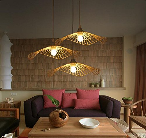 Natural Woven Pendant Light - 4