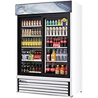 48cu ft Two Sliding Glass Door Refrigerator Merchandiser
