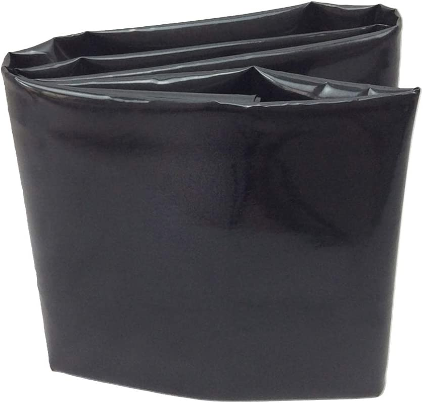 UWIOFF 10' x 13' Pond Liner, 20 Mil Pond Skins Pond Liner Black HDPE Pond Liner for Waterfall, Fish Ponds, Garden Fountain(10-Foot by 13-Foot)