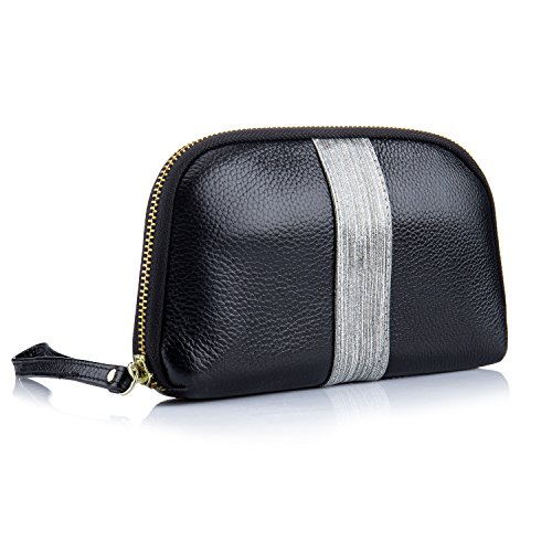 Lecxci Womens Leather Wristlets Wallets