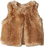 Chloe Kids Girl's Sleeveless Faux Fur Vest (Little Kids) Nude 4 (Little Kids)