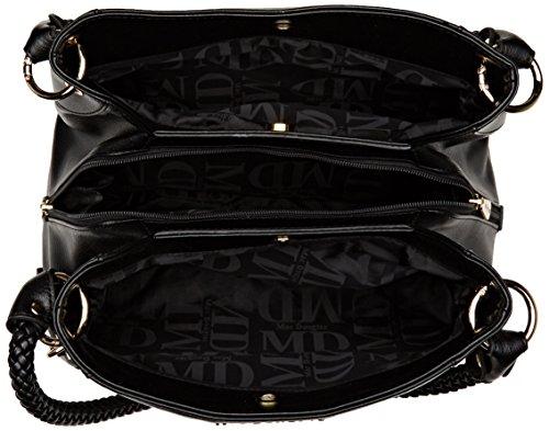 Chevron Noir Rouge porté épaule Noir Sac Fantasia Mac Douglas Fortissimo xSq8RfR
