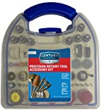 Century Drill and Tool 78009 186-Piece Rotary Tool Accessory Kit