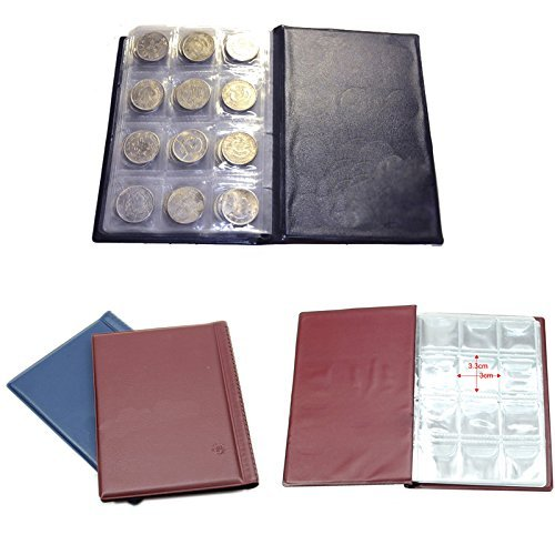 (Bhbuy Hot 120 Coin Holder Collection Storage Collecting Money Penny Pockets Album Book)
