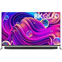 """TCL 75"""" Quantum Dot QLED 8K Android TV Included Onkyo Sound Bar Model: 75X915"""