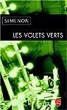 Les Volets verts par Simenon