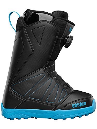 thirtytwo Youth Lashed BOA 16' Boots, Black, Size 3C