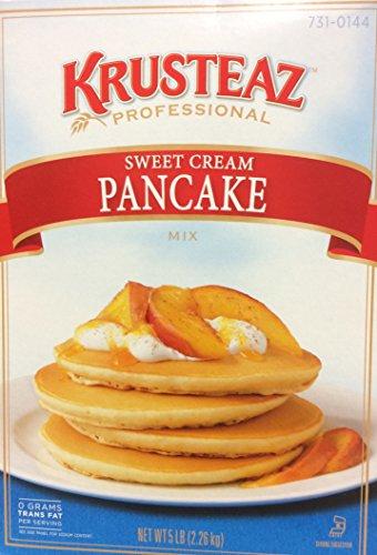 Krusteaz SWEET CREAM PANCAKE Mix 5lbs. (2-Pack) Restaurant Quality