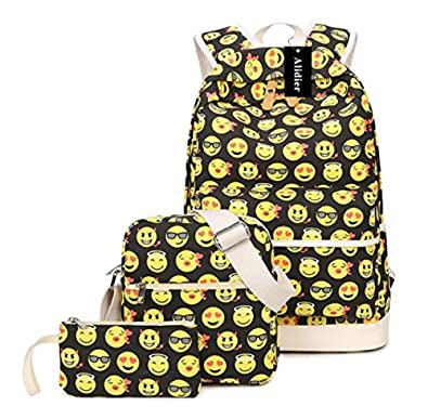 0a16520cb869 Alidier New Brand and High Quality Fashion College School Laptop Backpack  -Straps Reinforced Yellow