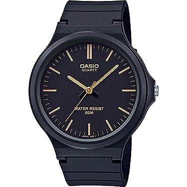 CASIO-MW-240-Reloj-analogico-de-Cuarzo-con-Pulsera-de-Resina