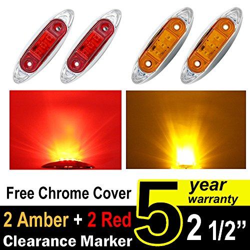 Chrome Bezel Led Lights - 2