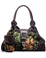 Unlimited Fashion Camouflage Rhinestone Buckle Shoulder Bag