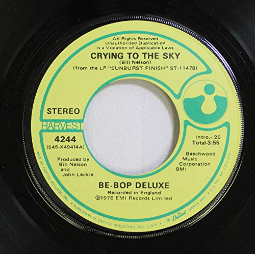 Be-Bop Deluxe 45 RPM Crying To The Sky / Ships In The Night