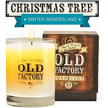 Christmas Tree Smelling Candles