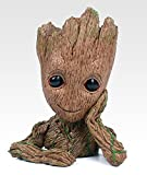 Groot Action Figures Guardians of The Galaxy Flowerpot Baby Cute Model Toy Pen Pot Best Gift 6.3""
